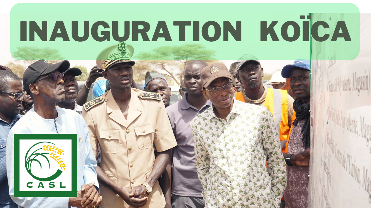 Inauguration du projet KOICA