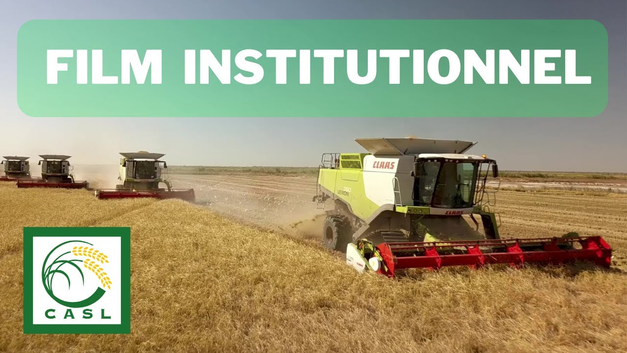 Film institutionnel de la Compagnie Agricole de Saint-Louis 2020